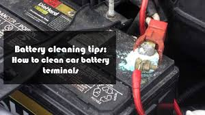 battery car battery cleaning tips how to clean your car battery terminals