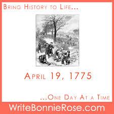 timeline worksheet april 19 1775 battles of lexington and