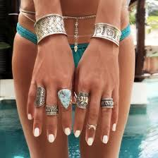 ring bracelet chain silver images Jewels ring bracelets silver teal gold silver ring silver jpg