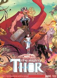 mighty thor jane foster the new thor not only fights bad guys
