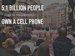 5 7 billion 5 1 billion people own a