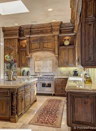 Tuscan Style Homes Interior by Tuscan Kitchen Kitchen Cabinet Inspiration Pinterest