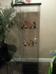 ikea detolf amiibo display with acrylic risers amiibocanada