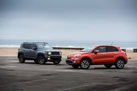 jeep renegade blue 2016 fiat 500x trekking awd better or worse than the jeep