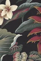 Upholstery Fabric Hawaii Black Fabric Backgrounds 3 Of 3 Pages Barkcloth Hawaii