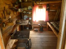 Primitive Home Decors Pioneer Cabin Onelookout Cozy Interior Loversiq