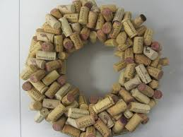 cork wreath a new year toast the home depot community
