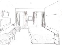 drawing of a room how to draw a room in one point perspective in a
