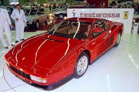 testarossa maintenance 1983 testarossa cars and sports cars