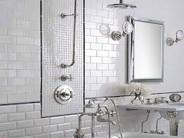 White Tile Shower Designs White Tiles In Classic Bathroom Love - Bathroom tile design