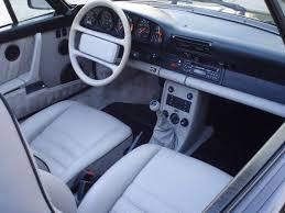 1989 porsche 911 anniversary edition 1989 porsche 911 cabriolet silver anniversary edition