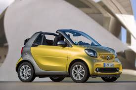 2017 smart fortwo cabriolet to be cheapest convertible adsit