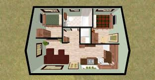 2 Bedroom Bungalow Floor Plans by Simple Bungalow 2 Bedroom House Plans