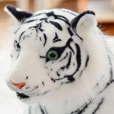 aliexpress buy cute plush white tigers stuffed animals plush