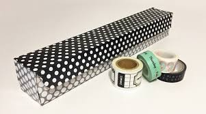 washi tape wednesdays a diy storage solution
