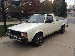 volkswagen rabbit truck lifted 1981 vw rabbit diesel pick up truck caddy tdiclub forums