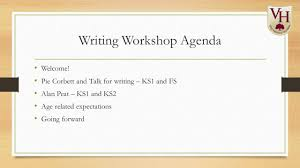 writing workshop agenda welcome pie corbett and talk for writing
