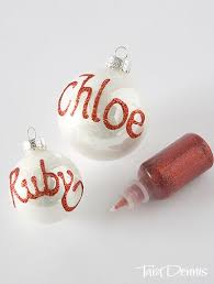 name baubles fair ideas and crafts