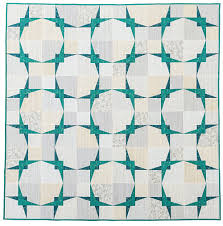 ceiling tiles a finished quilt from paper pieced modern 13 spools