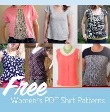 s blouse patterns 9 free s pdf shirt patterns craft buds