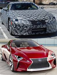 lexus lf fc spy shots lexus lf lc production prototype spotted page 5