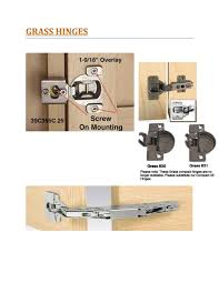 Grass 830 Cabinet Hinge by Grass Hinges