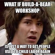 Build A Bear Meme - keanu build a bear