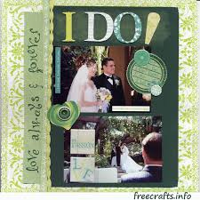 wedding scrapbook pages wedding scrapbook layout free craft ideas and