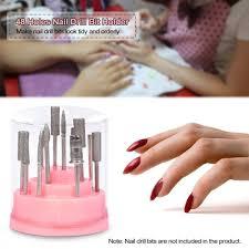 amazon com anself nail drill bit holder stand displayer