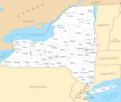Map Of New York State Counties by New York Cities And Towns U2022 Mapsof Net