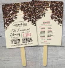 wedding program fans kit diy hashtag printable wedding program fans by fossilletterpress