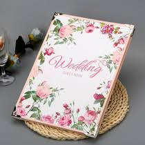 Wedding Sign In Book Gifts Books Check List From The Best Taobao Agent Yoycart Com