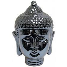 metallic buddha statue statues home accents home decor