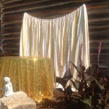 wedding backdrop gold gold sequin backdrop ivory white gold from changesbyneci on etsy
