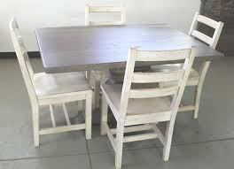 Driftwood Outdoor Furniture by Custom Made Old Oak Pedestal Table In Driftwood Finish Seen With
