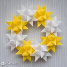 froebel as decoration go origami