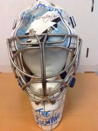 mask for sale sarasota resident unloading nhl goalie masks for 48 000