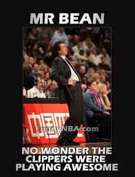 La Clippers Memes - coach of the year vinny del negro la clippers mr bean funny nba meme jokes photos 2013 jpg