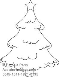 pine tree coloring pages clip art image of a classic christmas tree coloring page