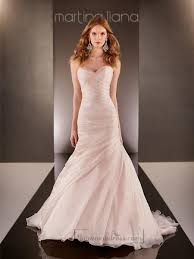 fit and flare cross sweetheart neckline ruched bodice wedding