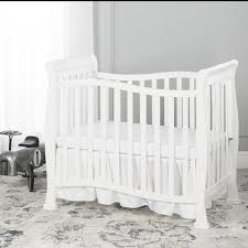 Mini Crib Bed Skirt by Dream On Me Piper 4 In 1 Convertible Mini Crib Toys