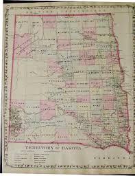 Map Of Sd Prints Old U0026 Rare South Dakota Page