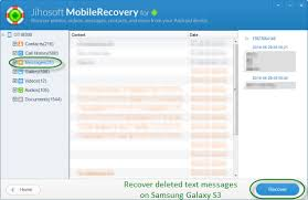 can you recover deleted text messages on android how to retrieve deleted text messages on samsung galaxy s3