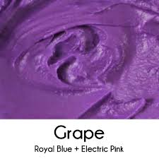 different color purples a blog about color theory and cookies mixing colors in icing