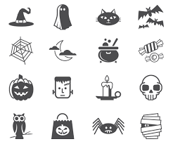 vector halloween halloween icon halloween icons stock vector image 45970169