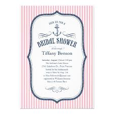 Nautical Bridal Shower Invitations Personalized Sailboat Bridal Shower Invitations