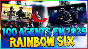 siege en 100 agents dans rainbow six siege en 2025 etc