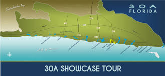 Map Of 30a Florida by 30a Beach Towns