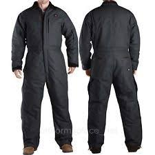insulated jumpsuit dickies insulated coveralls brown size 42 44 medium large