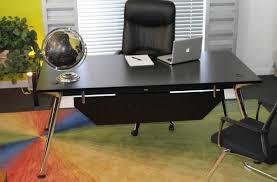 furniture second hand ikea glass top office desk modern elegant
